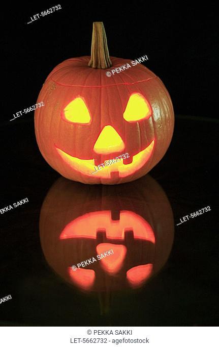 Halloween pumpkin  Helsinki, Finland
