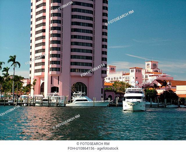 Boca Raton, FL, Florida, Lake Boca Raton, Boca Raton Resort and Club