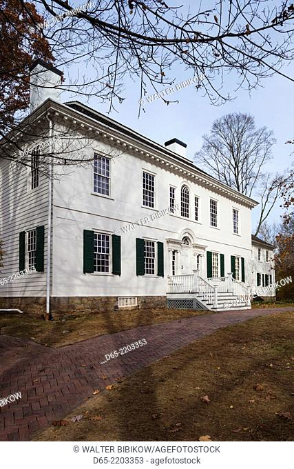 USA, New Jersey, Morristown, Morristown National Historic Park, Ford Mansion, headquarters of George Washington during the American Revolution