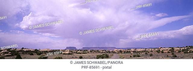 Storm Clouds Over Canyonlands National Park UT