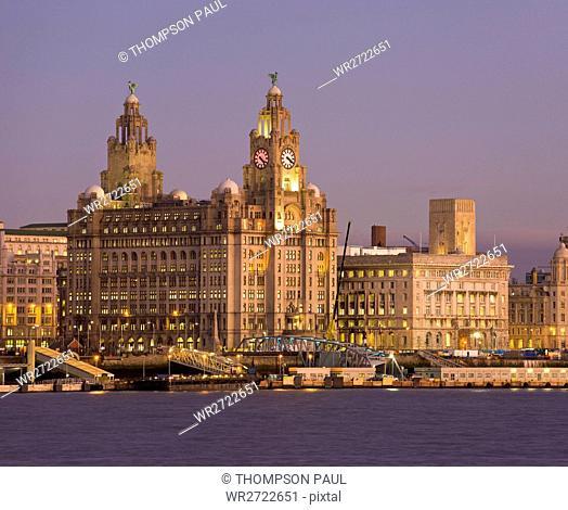Liverpool Skyline, England