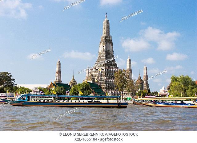 Wat Arun, or the Temple of Dawn  Bangkok, Thailand