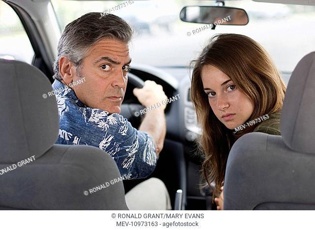 THE DESCENDANTS [US 2011] GEORGE CLOONEY, SHAILENE WOODLEY