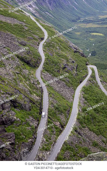 Trollstigen, National Tourist Route Geiranger - Trollstigen, Scandinavian, Norway