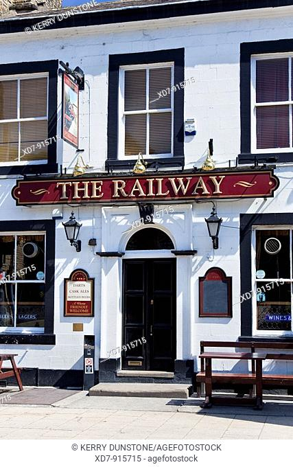 England West Yorkshire Hebden Bridge 'The Railway' public house
