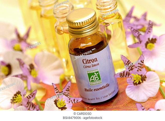 Essential oil of lemon