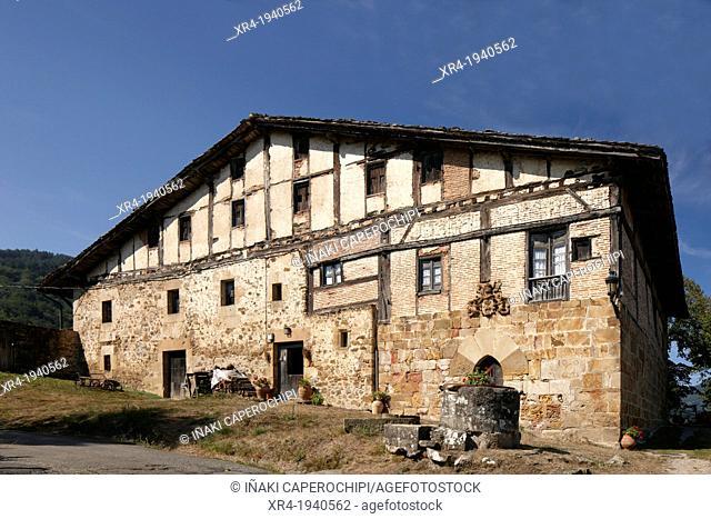 Jauregi Palace, Zerain, Goierri, Gipuzkoa