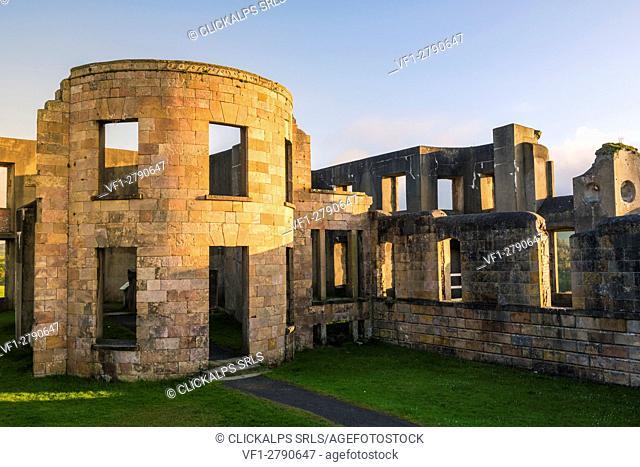 Downhill Castle, Castlerock, County Antrim, Ulster region, northern Ireland, United Kingdom