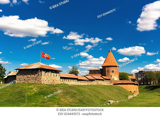 Old castle in Kaunas Lithuania 14th century