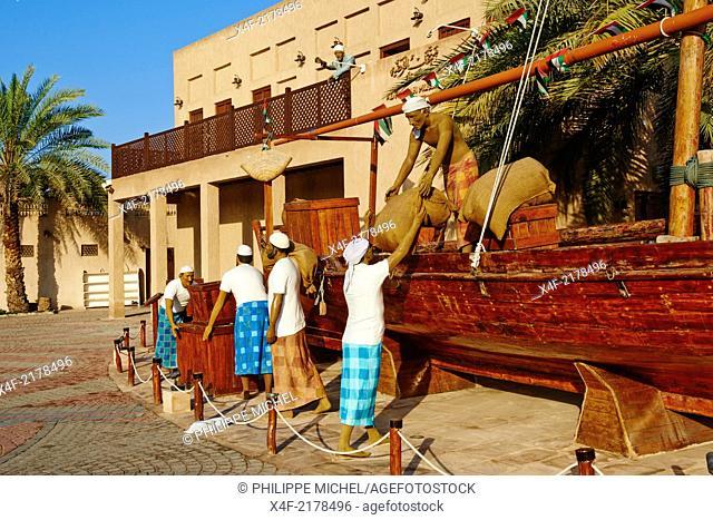 United Arab Emirates, Dubai, Bur Dubai neighbourhood, Shindagha heritage area