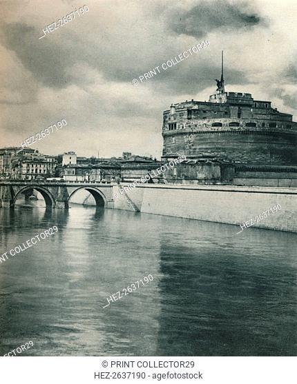 Castel Sant' Angelo, Rome, Italy, 1927. Artist: Eugen Poppel