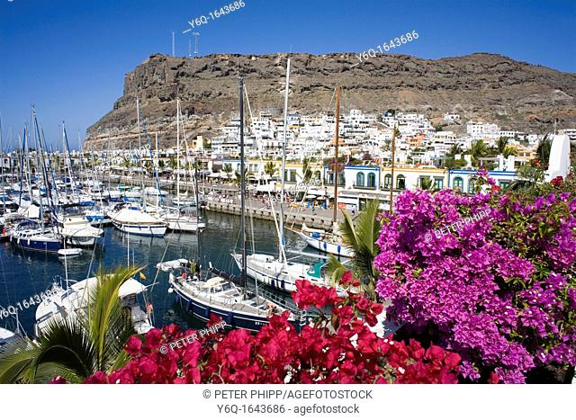 Picturesque and colourful 'Puerto De Mogan' in Gran Canaria in the Canary Islands