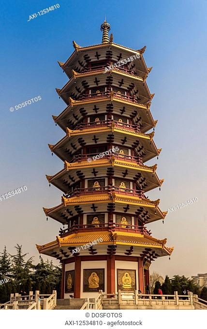 Qibao Buddhist Pagoda, Minhang District; Shanghai, China