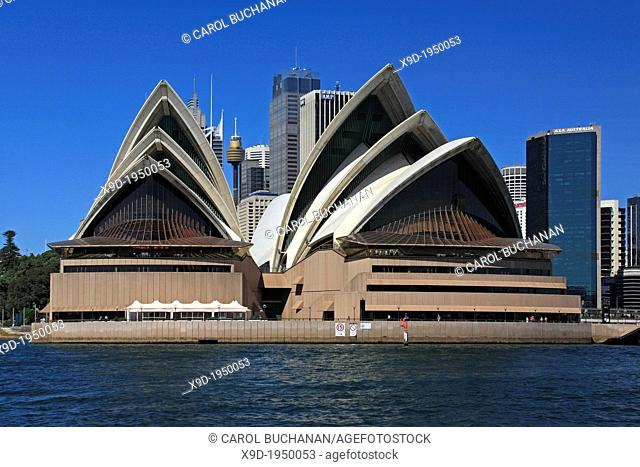 Sydney Opera House with Sydney Tower and skyline