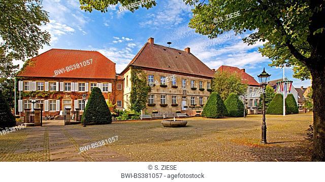 historic precinct, Germany, North Rhine-Westphalia, Muensterland, Nottuln