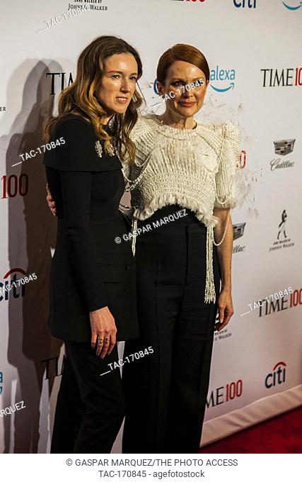 Julian Moore attends TIME 100 GALA on April 23 in New York City
