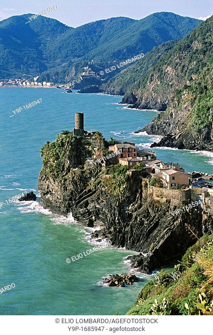 Vernazza, Cinque Terre, La Spezia, Liguria, Italy