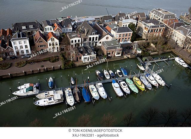 yacht-basin in dodrecht, netherlands