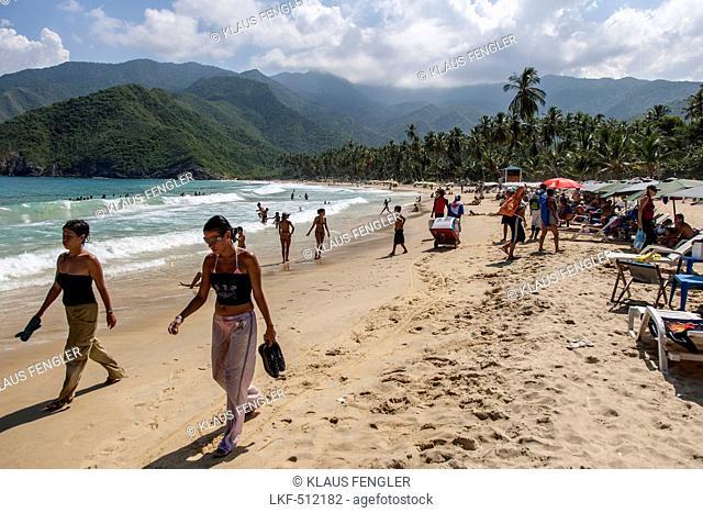 Beach of Puerto Columbia, Henri Pittier National Park, Venezuela