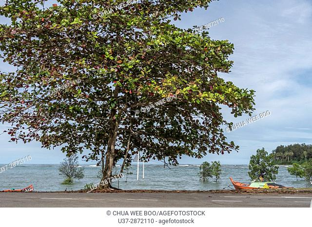 Sematan Water Front, Sarawak, Malaysia