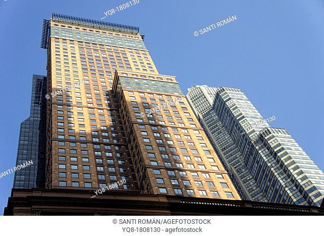 Skyline, Midtown Manhattan, New York City, USA