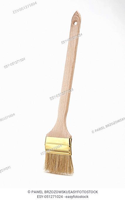 Paint brush isolated on white background. Decorating tool