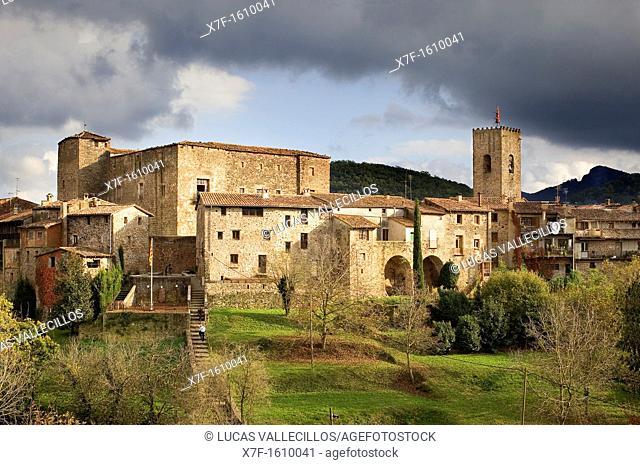Santa Pau, Garrotxa Natural Park, Girona province Catalonia Spain
