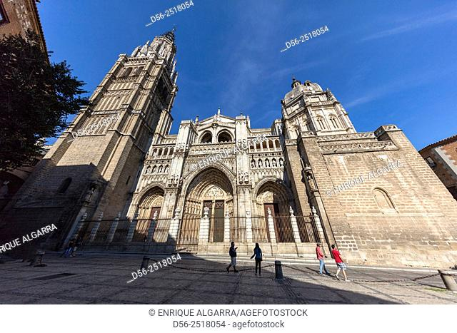 Cathedral of Saint Mary of Toledo - Primate Cathedral of Toledo, Castilla-La Mancha, Spain