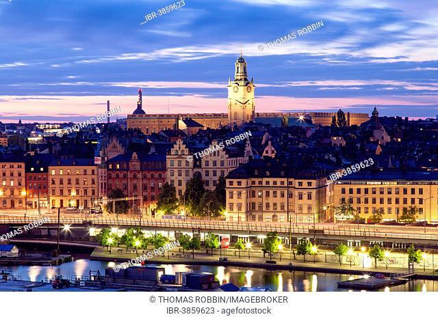 The historic centre, Gamla Stan, Stockholm, Stockholm County, Sweden