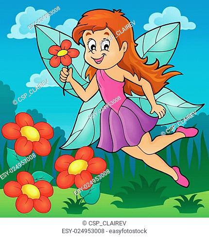 Happy fairy theme image 5