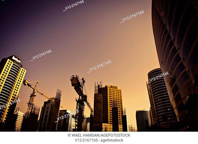 Dubai New construction. UAE