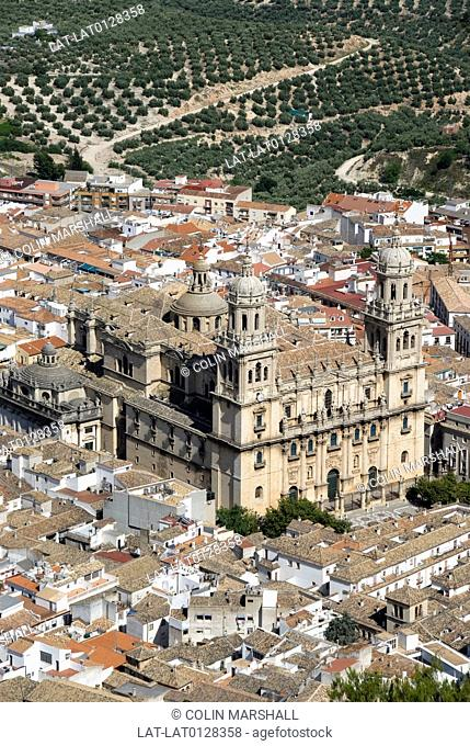 Jaen is a historic city in the Santa Catalina mountains. There is a large Renaissance cathedral of the Assumption of the Virgin at the centre