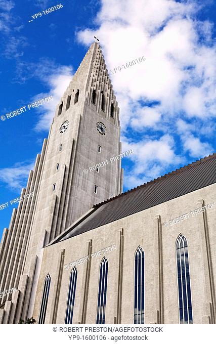 Hallgrimskirkja church, Rejyjavik, Iceland
