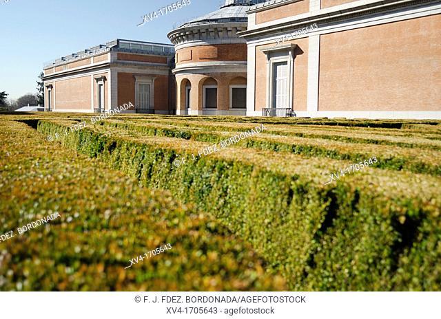 Del Prado Musseum in Madrid, Spain