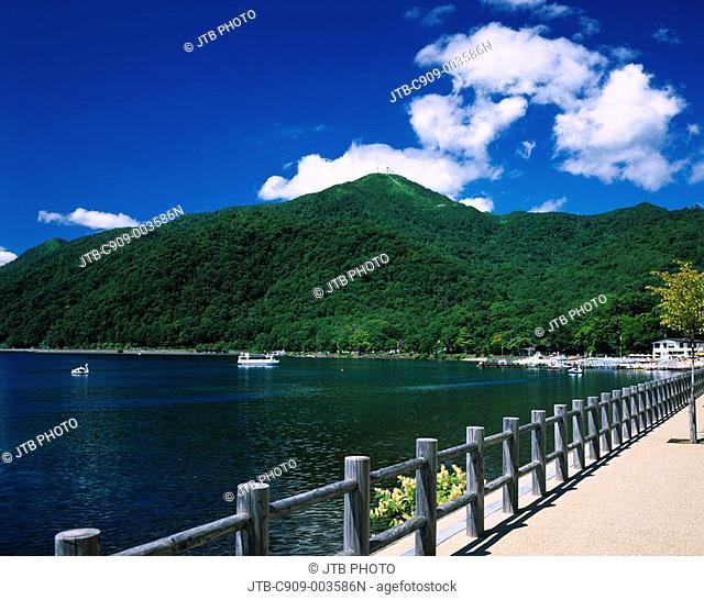 Lake Shikotsu, Lakes and marshes, Mt Monbetsu, Shikotsu Toya national park, Chitose, Hokkaido, Japan