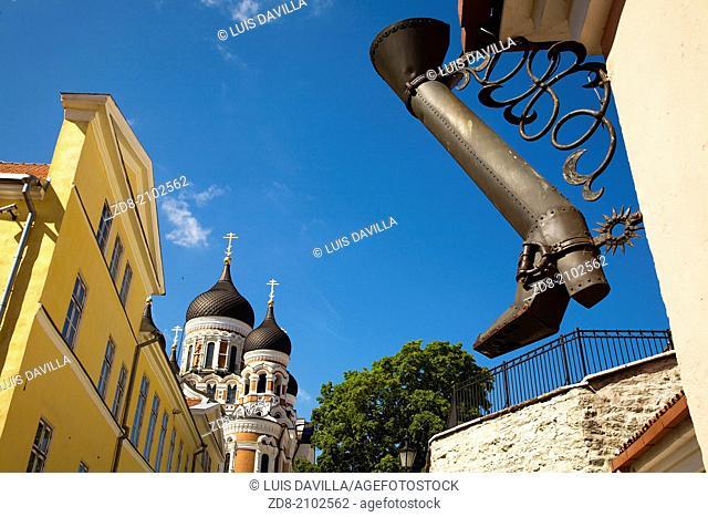 Aleksander Nevski cathedral. tallin