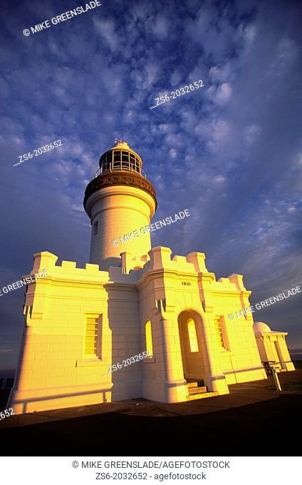 Sunset, Cape Byron Lighthouse, Byron Bay, NSW, Australia