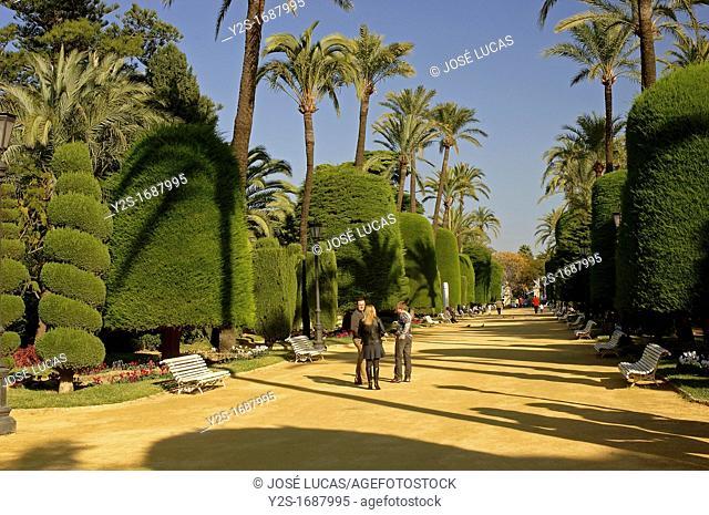 Genoves Park, Cadiz, Spain
