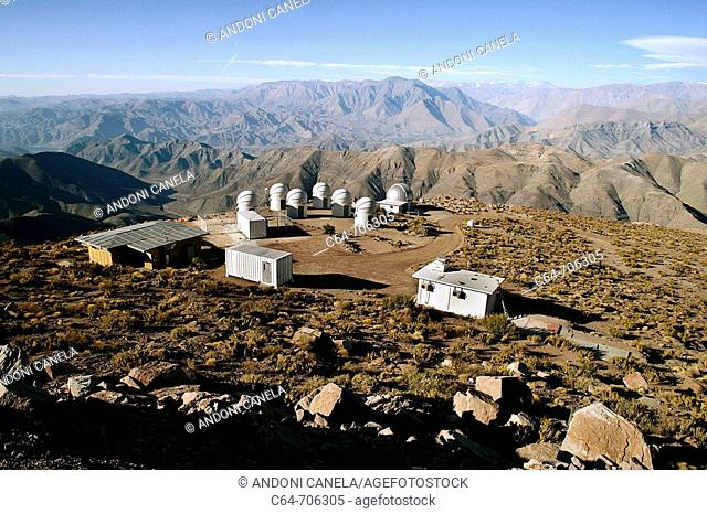 Astronomical Observatory of Cerro Pachón. Coquimbo region, Chile