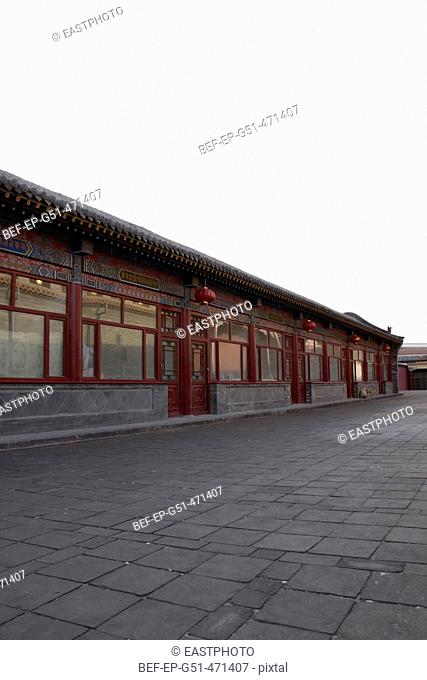 classical architecture in the Jokhang Temple