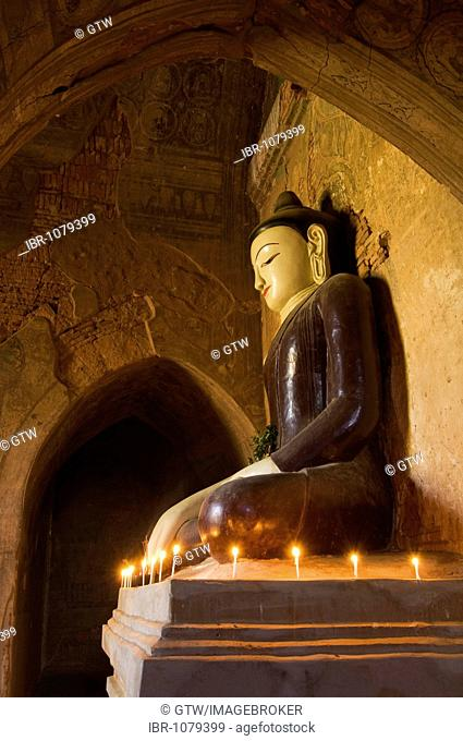 Tayoke Pyay Temple, Buddha statue, Bagan, Myanmar