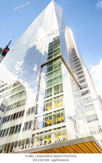 Bank of America Tower, One Bryant Park, West 42nd Street, Manhattan, New York City, New York, USA