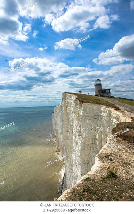lighthouse Belle Tout at Beachy Head, Sussex, England