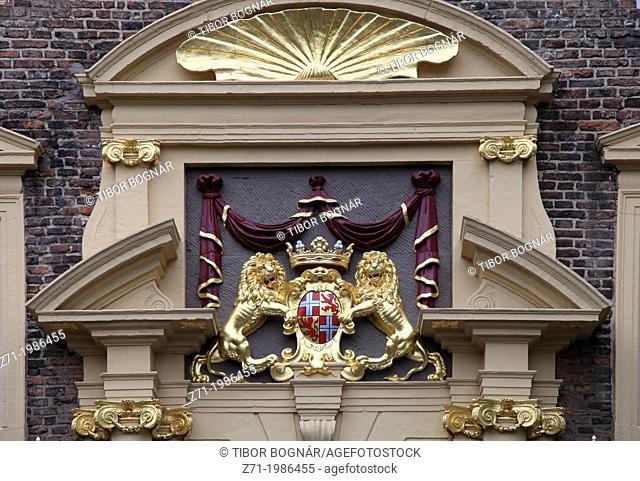 Netherlands, Utrecht, University, coat of arms,