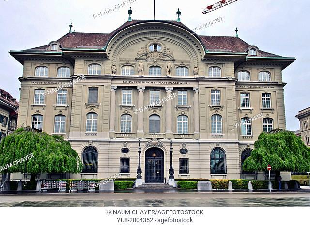 Switzerland National bank, Bern, Switzerland, Europe