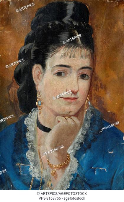 Gonzales Eva - Self Portrait (Attributed)