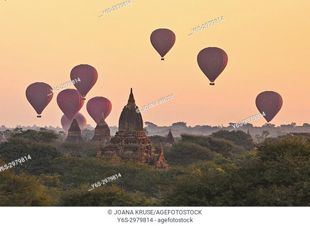 Bagan, Mandalay, Myanmar, Asia