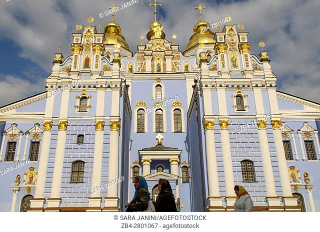 Cathedral of St. Michael's Golden-Domed Monastery, Kiev, Ukraine, Eastern Europe