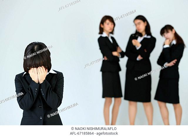 Workplace harrasment social issue image