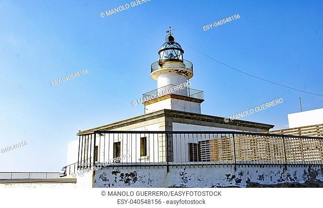 Cap de Creus lighthouse, Cadaqués, Catalunya, Spain